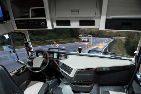Autonome Lastwagen