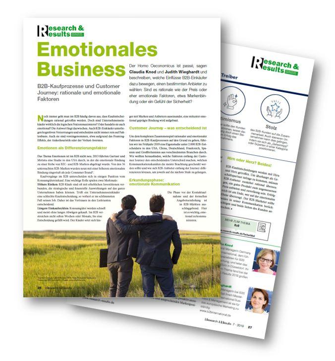 Emotionen B2B Differenzierung